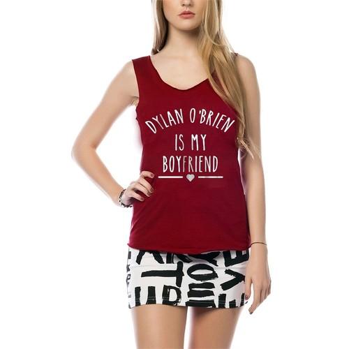 Köstebek Obrien Is My Boy Friend Bat115 Kadın T-Shirt
