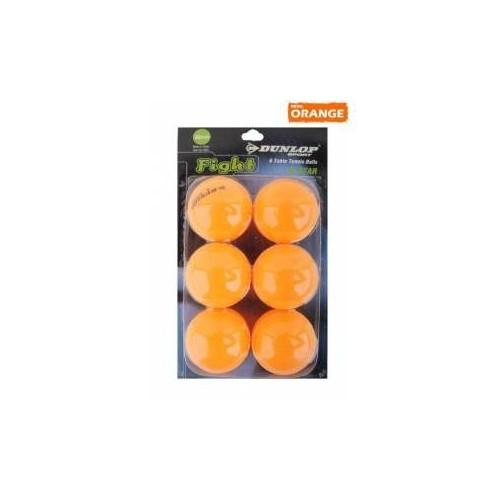 Dunlop 1 Yıldız 6'lı Turuncu Masa Tenisi Topu