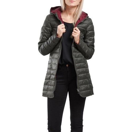 Only Tahoe Nylon Hooded Contrast Coat Otw