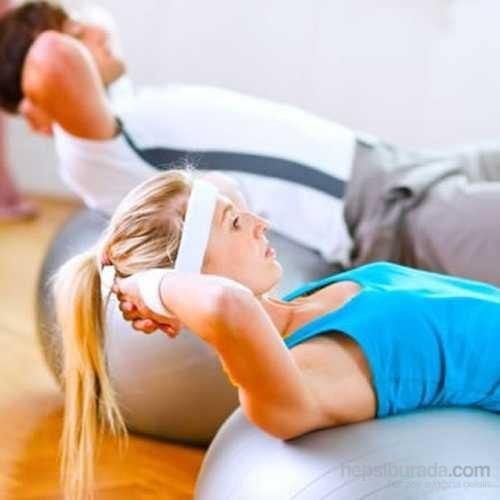 Carda 65Cm Pilates Topu ( Pompa Hediyeli )