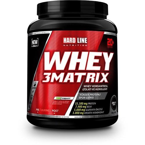 Hardline Whey 3Matrix Protein 908 gr