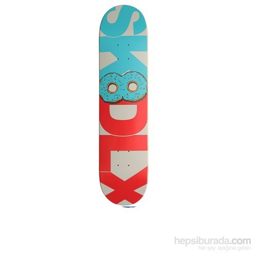 Sk8dlx Donut Series Light Blue/Red Deck 7,5""