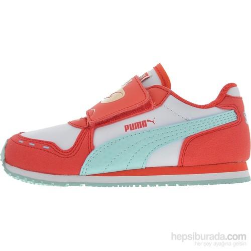 Puma Cabana Racer Tom & Jerry V Bebek Kırmızı Spor Ayakkabı (3594