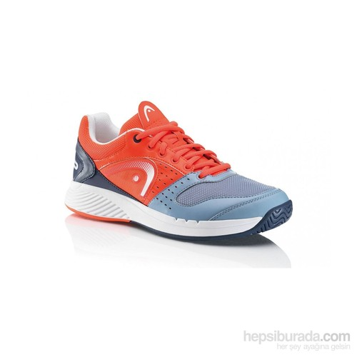 Head Sprint Team Men Clay Fiery/Coral/Grey Erkek Tenis Ayakkabıları