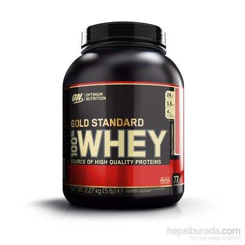 Optimum Gold 100% Whey Gold Std - Chocolate 5.15lb/2270gr Multi-lingual