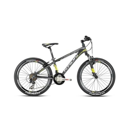 "Kron Xc 150 24 Jant 14"" 21 Vites V-Fren Siyah - Kırmızı - Beyaz Dağ Bisikleti"