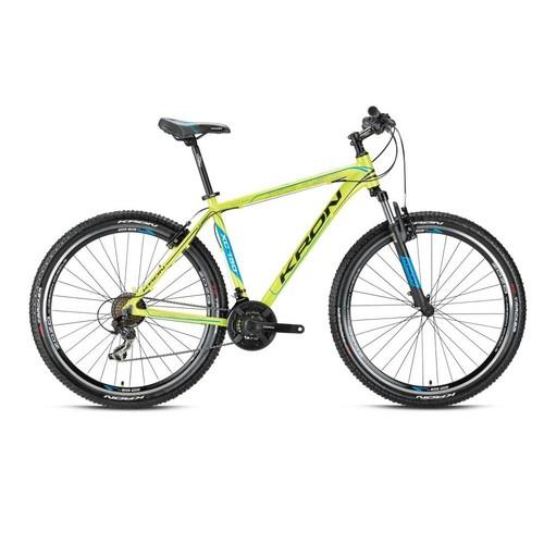 "Kron Xc 150 29 Jant 18"" 21 Vites V- Fren Mavi - Yeşil - Beyaz Dağ Bisikleti"