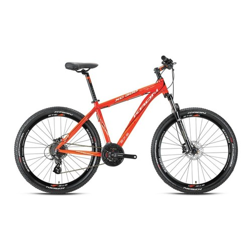 "Kron Xc 450 27,5 Jant 20"" 27 Vites Fren Mavi - Lime - Beyaz Dağ Bisikleti"