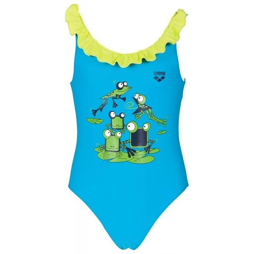 Arena Kg Carinho Kız Çocuk Yüzücü Mayosu