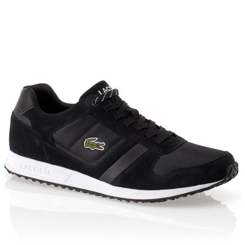 Lacoste Vauban Pag Erkek Siyah Spor Ayakkabı (Spm0032-02H)