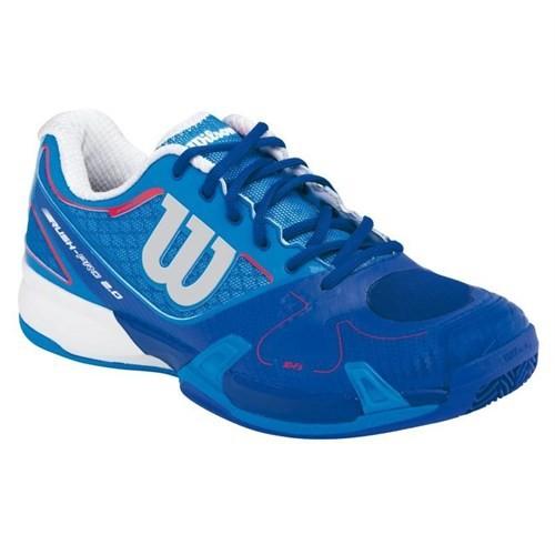Wilson Rush Pro 2.0 Blue Clay Court Erkek Tenis Ayakkabısı
