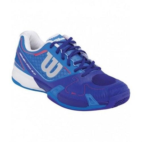 Wilson Rush Pro 2.0 Blue Erkek Tenis Ayakkabısı