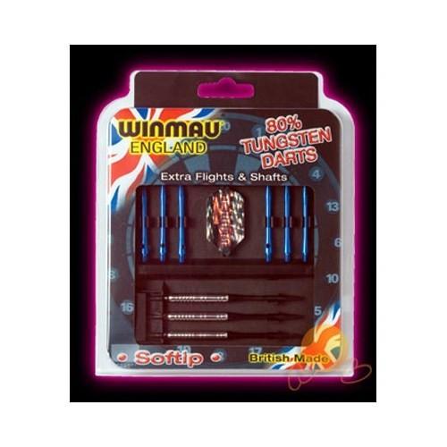 Winmau Hediye Seti 80% Tungsteng Plastik Uçlu Dart (profesyonel Seviye)