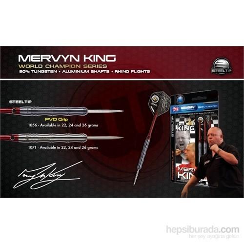 Winmau Mervyn King %90 Tungsten Çelik Uçlu Dart PVD Grip-22 Gram