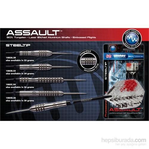 Winmau Assault %90 Tungsten Çelik Uçlu Dart-20 Gram