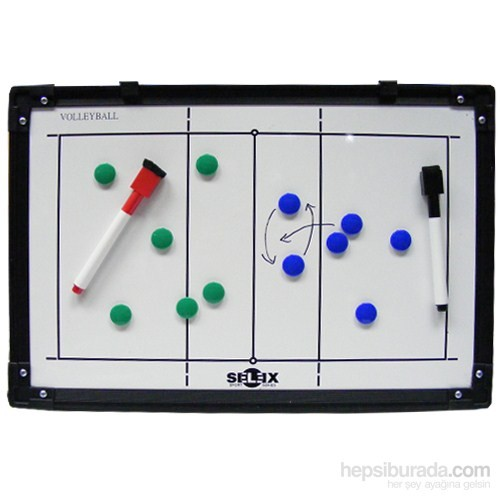 Selex Basketbol-Voleybol Çift Taraflı Taktik Tahtası