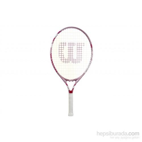 Wrt223600 Wilson Envy Pink 23' Tenis Raketi 7-8 Yaş Çocuk Tenis Malzemeleri