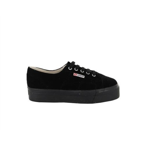 Superga S0080Y0-999 2790 Velvetw Black Günlük Ayakkabı
