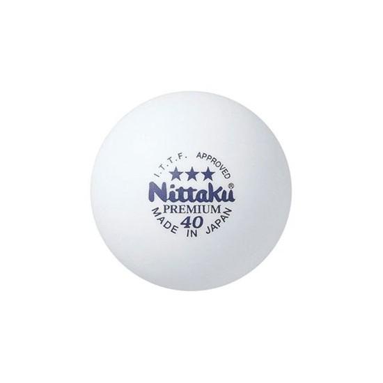 Nittaku Masa Tenisi Topları 3 Lü Beyaz