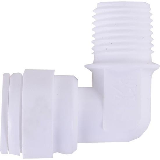 Su Arıtma Filtre Dirseği 1/4 inç Quick 1/4 inç Npt