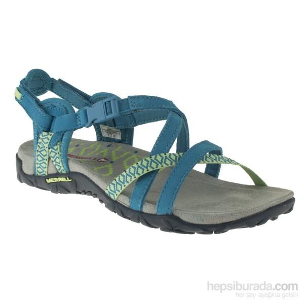 Merrell 266 J55314Z Yeşil Kadın Sandalet