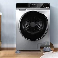 Andela Çamaşır Makinesi Titreşim Önleyici Kaydırmaz Vantuzlu Stoper Set 4 Adet