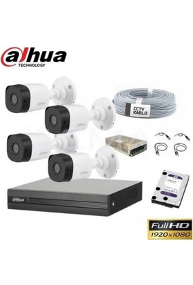 Dahua 4lü Ahd Güvenlik Kamerası
