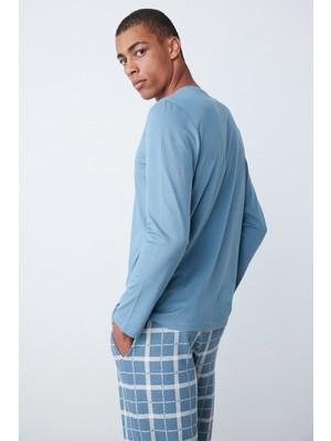 Penti Koyu Mavi Relax Blue Pijama Takımı