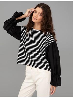 Pierre Cardin Siyah Comfort Fit Sweatshirt 50244514-VR046