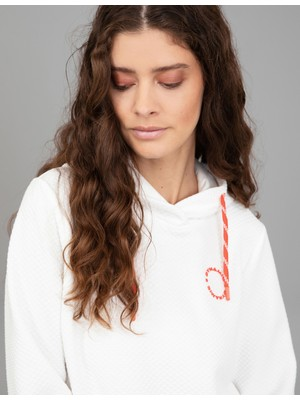 Pierre Cardin Ekru Comfort Fit Sweatshirt 50244949-VR019