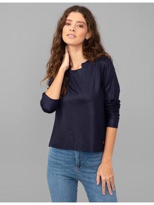 Pierre Cardin Lacivert Regular Fit Sweatshirt 50244513-VR033
