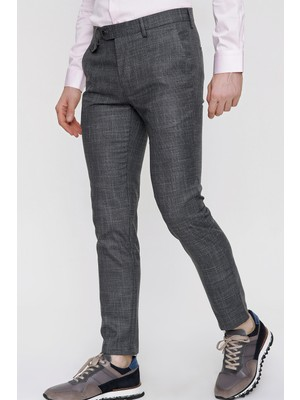 Morven Erkek Milano Trend Pantolon Siyah