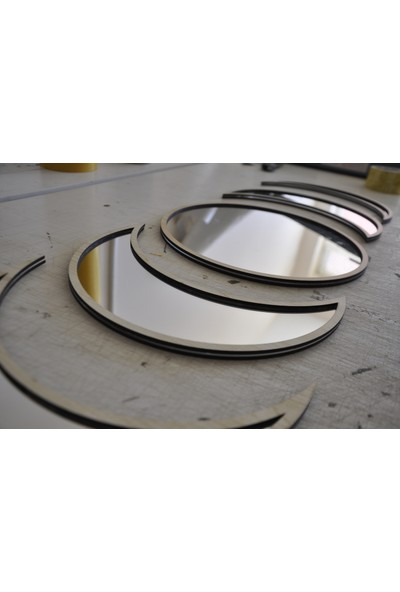 St Design Ay'ın Her Hali 25 cm Akçaağaç - Gümüş