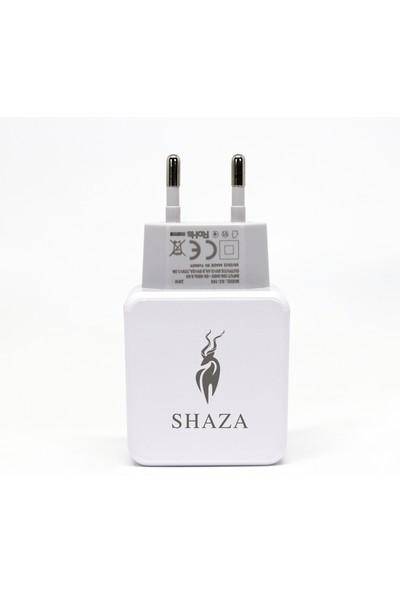 Shaza SZ-103 Tek Çıkışlı Quick Charger 3.0 Type-C Ev Şarj Aleti Set