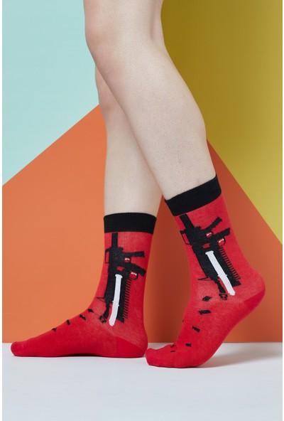 The Socks Company Anti Terror Desenli Erkek Çorap 41-45 Numara