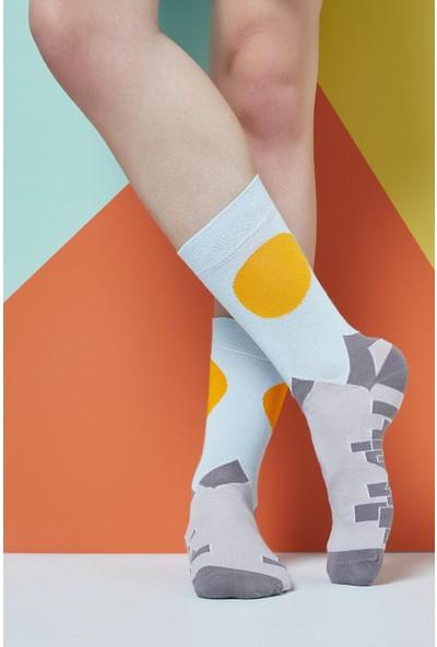 The Socks Company City Desenli Erkek Çorap 41-45 Numara