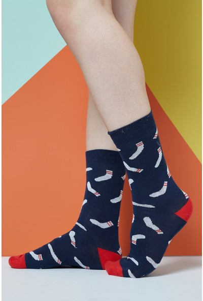 The Socks Company On Socks Desenli Erkek Çorap 41-45 Numara