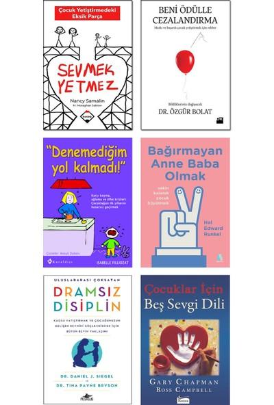 Buzdağı Yayınevi – Sevmek Yetmez + Beni Ödülle Cezalandırma + Denemediğim Yol Kalmadı + Bağırmayan Anne Baba Olmak + Dramsız Disiplin + Çocuklar Için Beş Sevgi Dili / 6lı Çocuk Bakım Kitap Seti