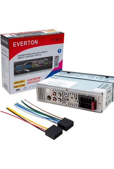 Everton RT-6017 4X50 Watt Bluetooth-Usb-Sd-Fm-Aux Destekli Oto Teyp