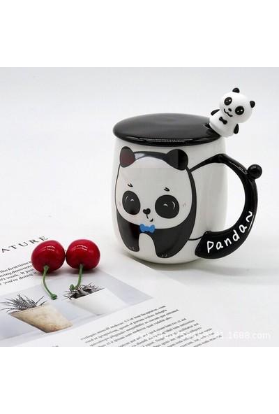 Hediye Sahibi Panda Tasarım Kupa Bardak