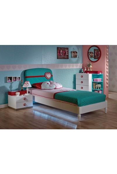 Meltem Love Çocuk Odası Tek Kişilik Yatak Örtüsü - 150 x 225 cm
