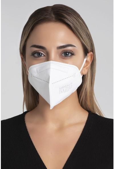 Safetouch N95 Ffp2 Yüksek Filtrasyon Maske 100 Adet
