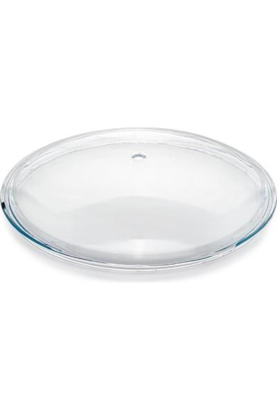 EW's Kitchenware Pyrex Cam Tencere ve Tava Kapakğı 24 cm