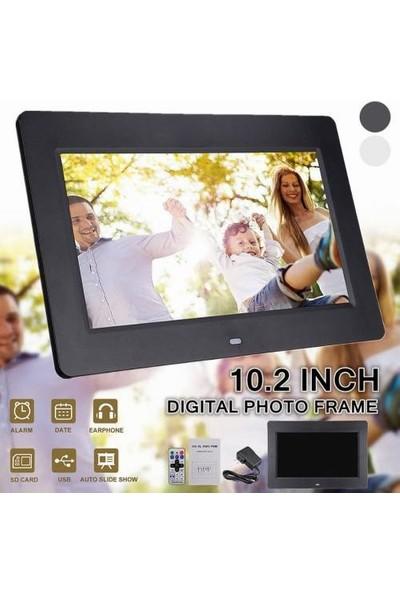 Kingboss Dijital Fotoğraf Çerçevesi Tft LCD 10'' Ekran - Uzaktan Kumandalı