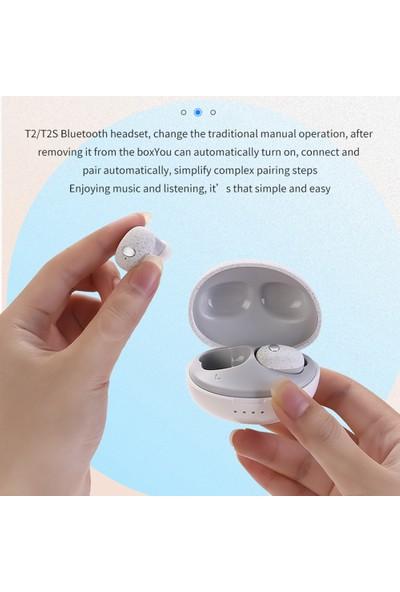 Pasifix T2S Bluetooth 5.0 Tws Stereo Spor Kulaklık Kılıfı (Yurt Dışından)