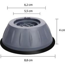 Nalbur Sepeti Çamaşır Makinesi Titreşim Önleyici Kaydırmaz Vantuzlu Stoper Set 4 Adet