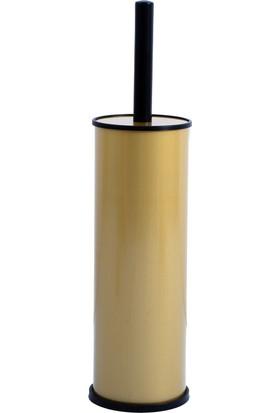 Modernica 5 Lt Pedallı Çöp Kovası Klozet Fırçası Metal Banyo Seti