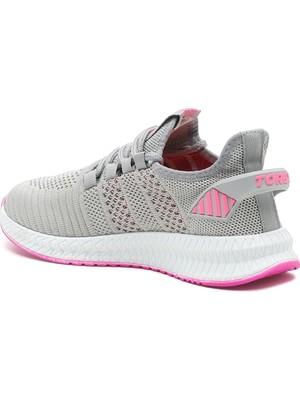 Torex Joy W 1pr Gri Kadın Koşu Ayakkabısı