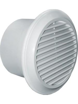 Blauberg Banyo Tuvalet Mutfak Ofis Havalandırma Fanı M3/h 105 Tasarruflu 37 Dba Deco 100 Fan Duvar Tavan Montaj Sürekli Çalışma Agmair Agm Hava