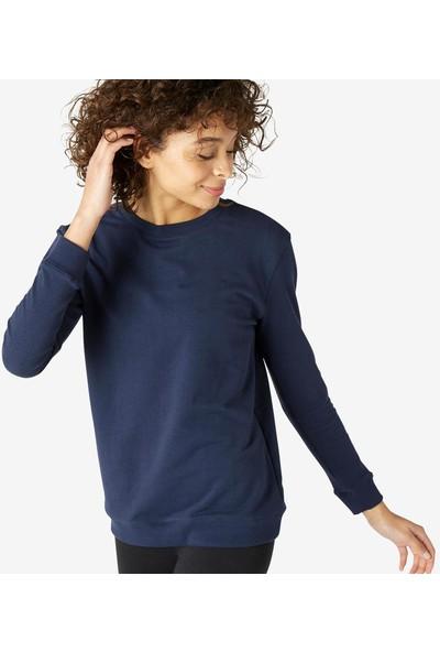 Nyamba Kadın Sweatshirt - Mavi - 100 Pazarist